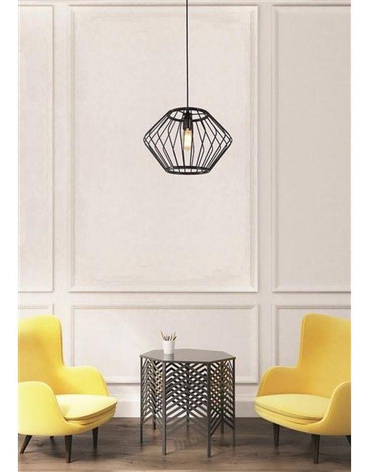 Geometrische hanglamp 37cm diameter