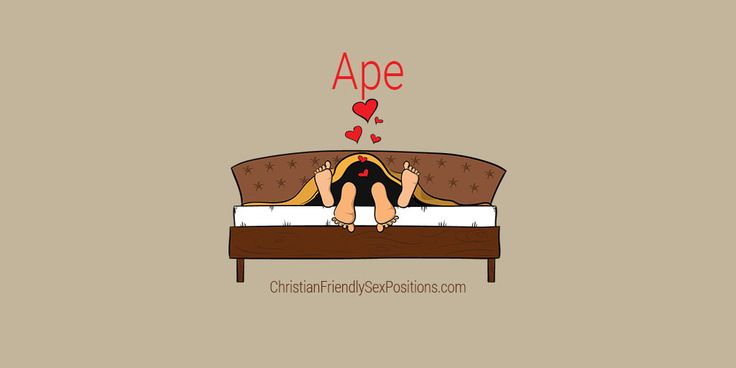 Christian-friendly rear-entry sex position with deep penetration: Ape #ChristiansDoITBest
