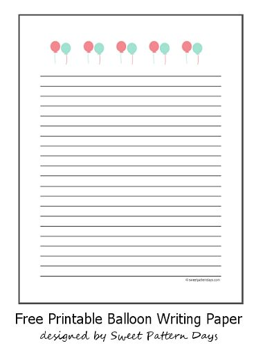 128 best Stationery Printables images on Pinterest Stationery - printable lined paper sample