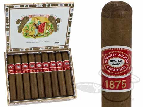 Romeo Y Julieta 1875 Bully 5 x 50—Box of 25 - Best Cigar Prices