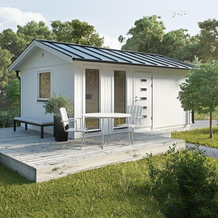 Stuga Jabo Flex Paket 18,4 m2 - Attefallshus - Stugor & Bodar - Bygghemma.se