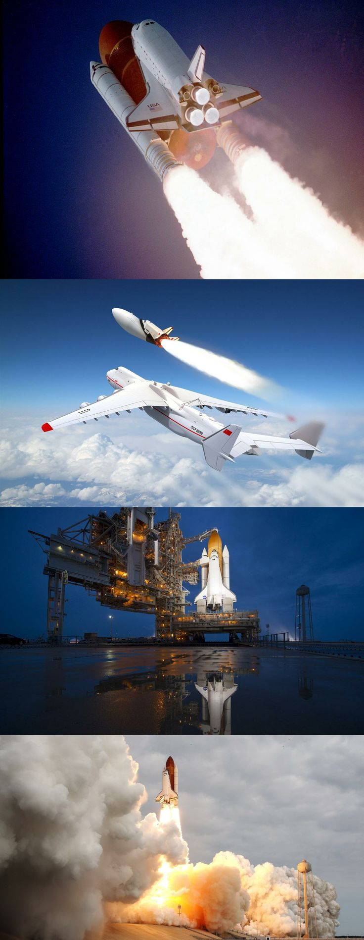 space, shuttle, launched