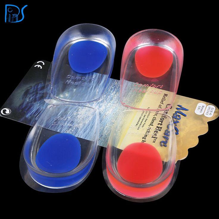 New Fashion Unisex Mềm Cao Su Gel Đau Gót Chân Spur Cup lót Hỗ Trợ Đệm Giày Chèn Cho Người Đàn Ông Giày-Pad Chất Lượng 1 cặp