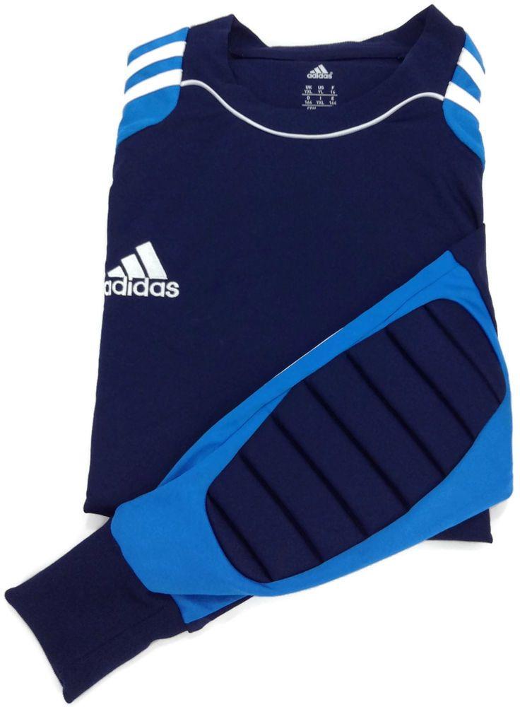 ADIDAS Formotion Goalkeeper Shirt Youth Large Climacool Goalie Jersey Mens Small #Adidas