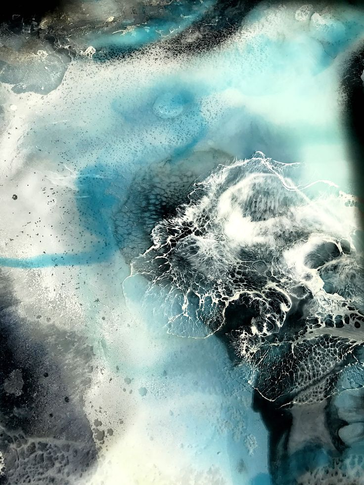 Frozen colours in Resin