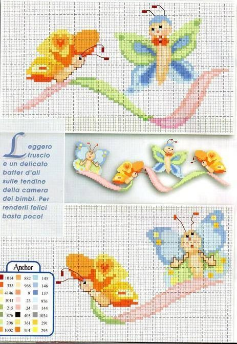 48 best Punto de cruz infantil images on Pinterest | Cross stitch ...