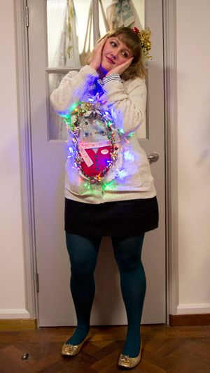 bad christmas outfits pictures