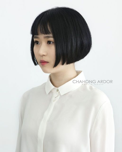 SCATTER – Over cut bob #short #hair #beauty #cut #chahongardor