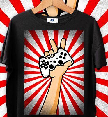 koszulka gamera