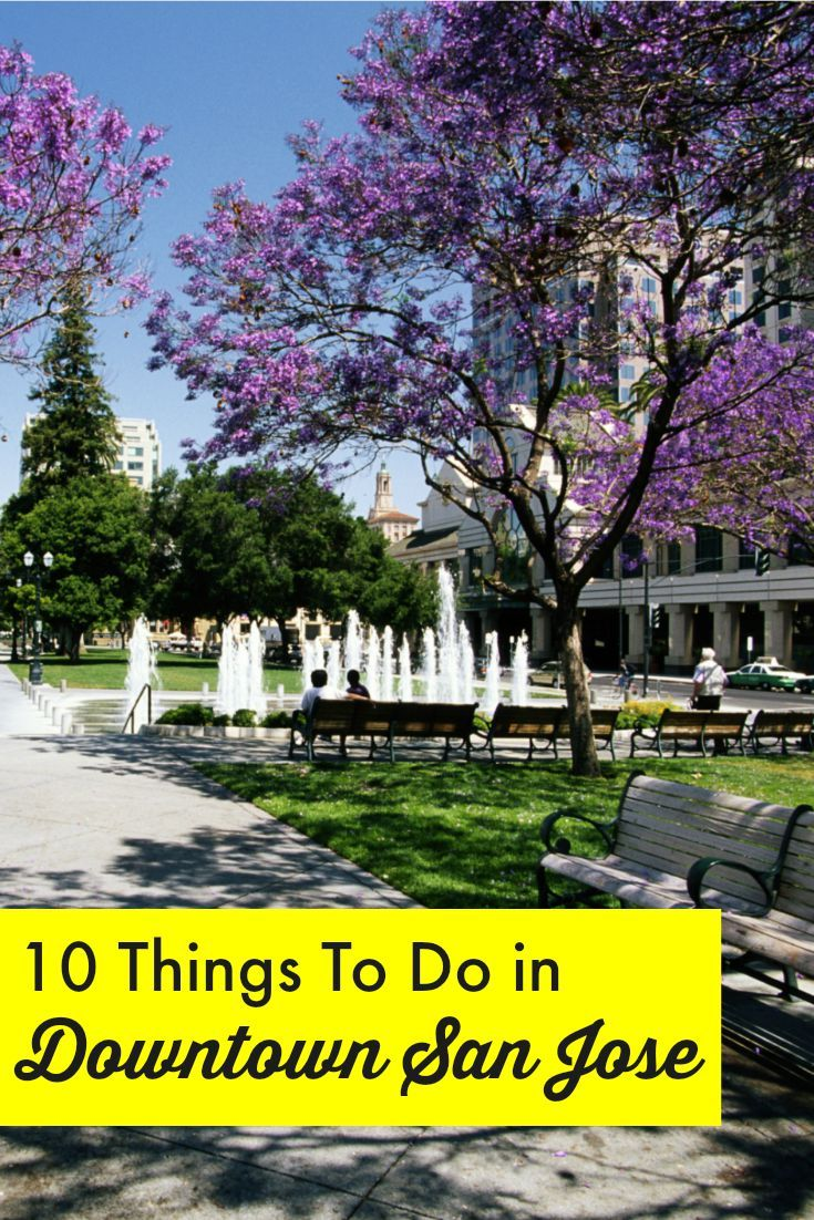 The top things to do in Downtown San Jose, California // museums, history, markets, and more