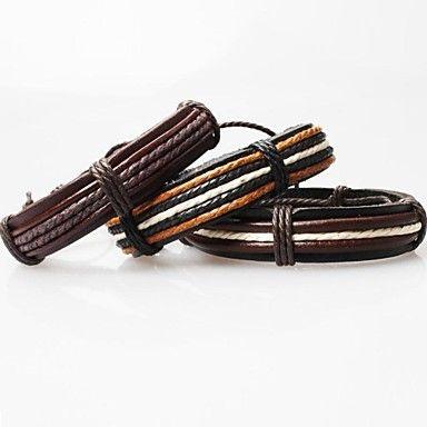 z&x®+les+bracelets+en+cuir+de+cru+tibétains+faits+à+la+main+des+hommes+(1pc,+trois+options+de+couleurs)+–+USD+$+1.99