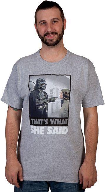 She Said Darth Vader Shirt
