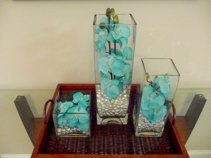 Best ideas about teal wedding centerpieces on pinterest