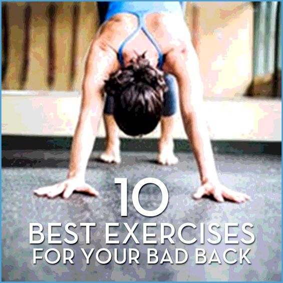 If you struggle with a tight, sore back, these are some of the best exercises to relieve your pain, strengthen your midsection and stretch your tight spots.