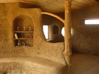 interior cob house