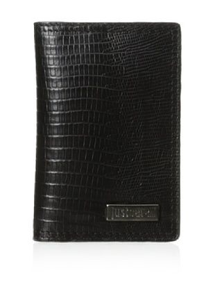 Just Cavalli Men's Bifold Card Wallet