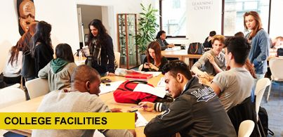 DLD College London // Big Sisiter college of Abbey College Manchester// Facilities at the best private sixth form college in London