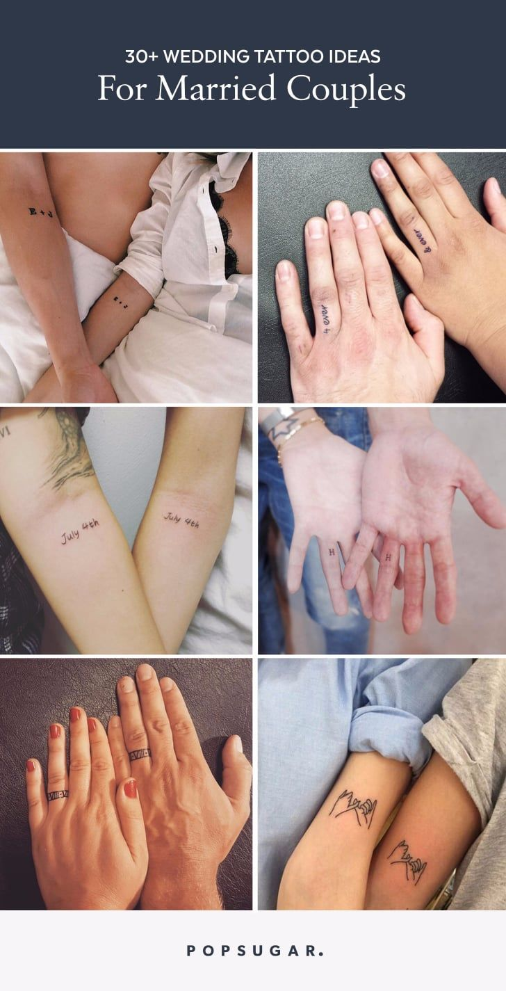 18 Wedding Tattoos For Couples Who Will Love Each Other Forever And Ever Meaningful Tattoos For Couples Couple Wrist Tattoos Wedding Tattoos