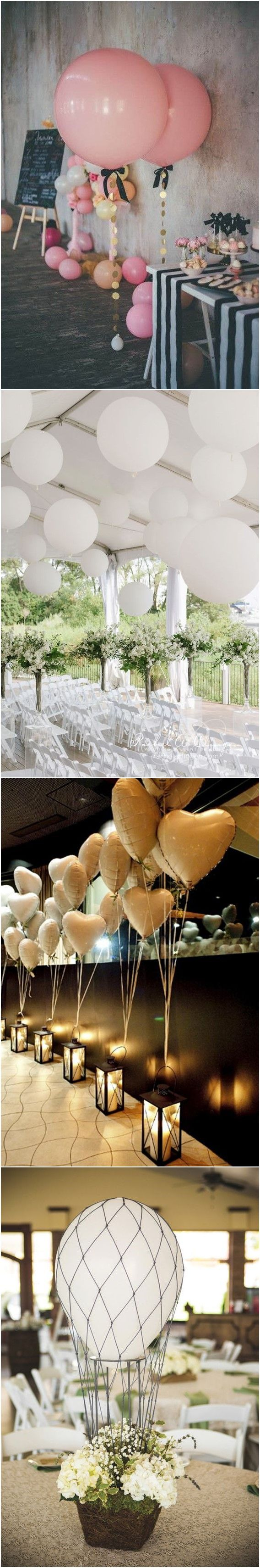 Wedding    Decorations » 24 Fun and Creative Balloon Wedding Decoration Ideas ❤️ More:    http://www.weddinginclude.com/2017/08/fun-and-creative-balloon-wedding-decoration-ideas/