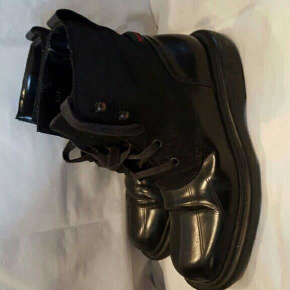 Womens Gucci boots Used  Gucci boots Gucci Shoes Winter & Rain Boots
