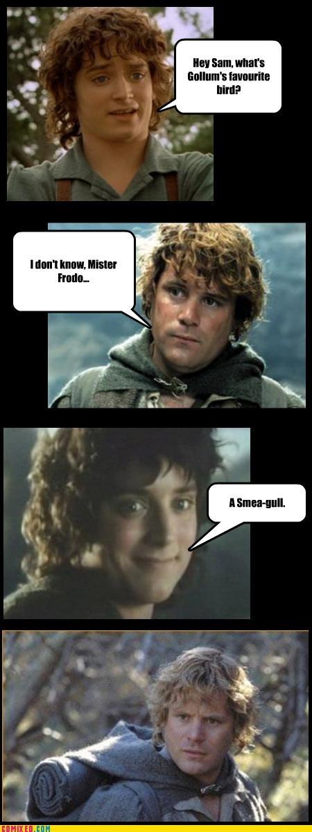 Punnery Punnery. Chaque fois que je vois des trucs seigneur des anneaux, je pense à toi! :) @ jess …   – The hobbit/ lord of the rings stuff