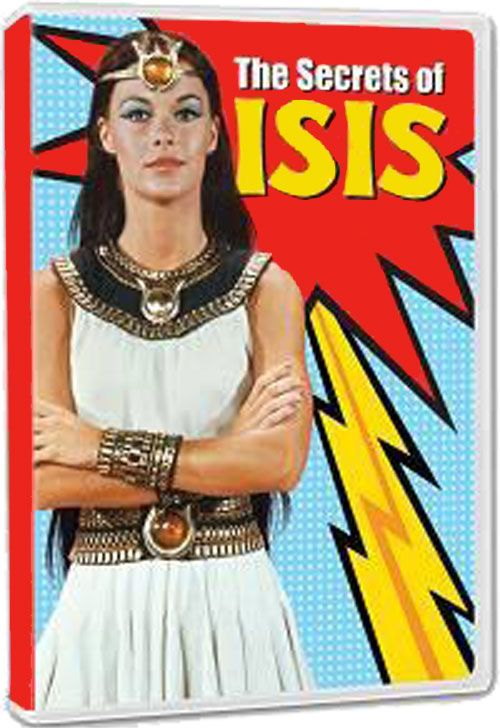 Secrets of Isis Series 1 H, Ga,V An ordinary teacher discovers a magical amulet that transforms her into the superhero Isis. 3-20-14