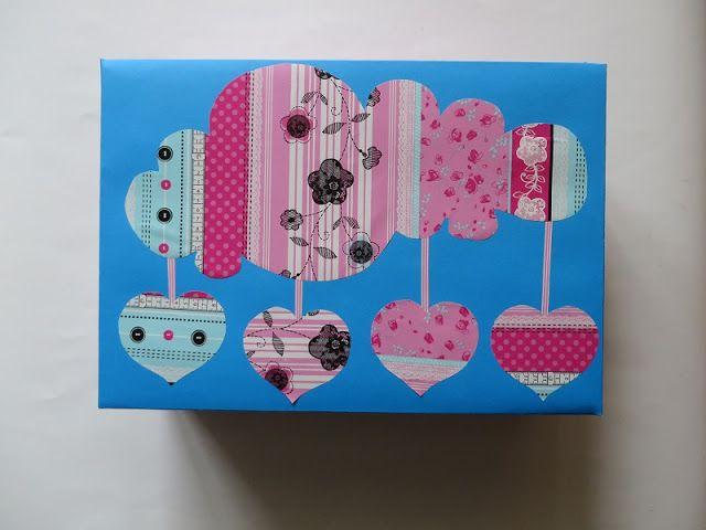 Eksperymenty z drutami: Pakowanie prezentów czyli ozdabianie pudełka
