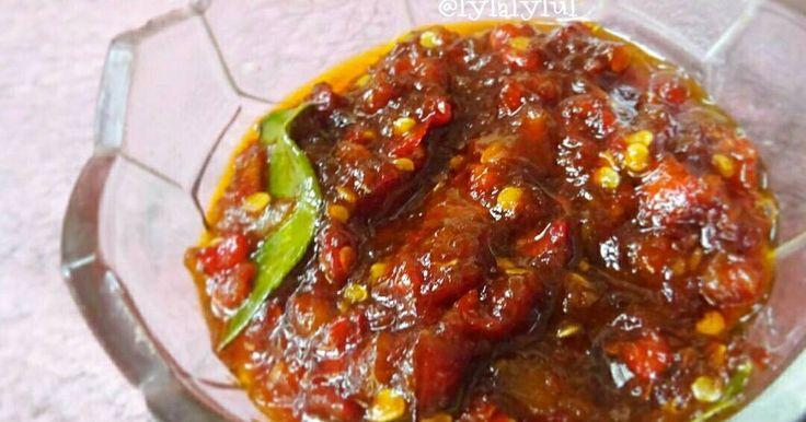 Resep Sambel Bajak (manis) favorit. Ini cucok banget dimakan sama ayam goreng kuning, tempe goreng, telor ceplok, dan gorengan2 lain yg dominan asin gurih gitu