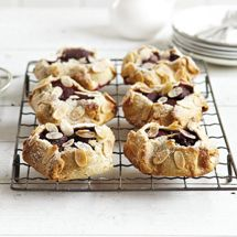 Plum and Almond Tarts from Chelsea Sugar.
