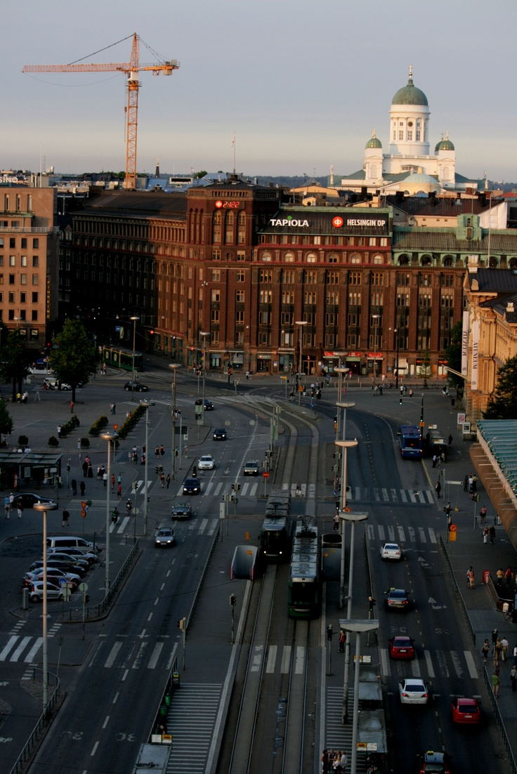 Helsinki, summer 2010 - photo taken from Loiste rooftop bar.