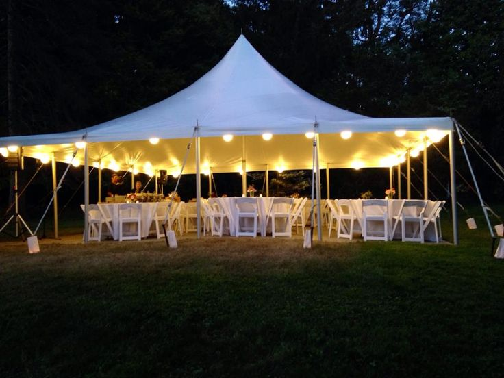 Tips, advice, and pricing information for when you need to rent a wedding tent.