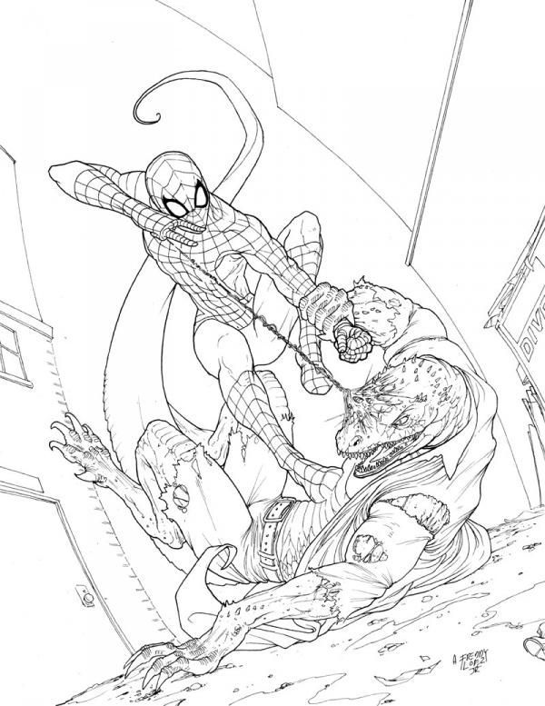 Spiderman Vs Vulture Coloring Pages Di 2020
