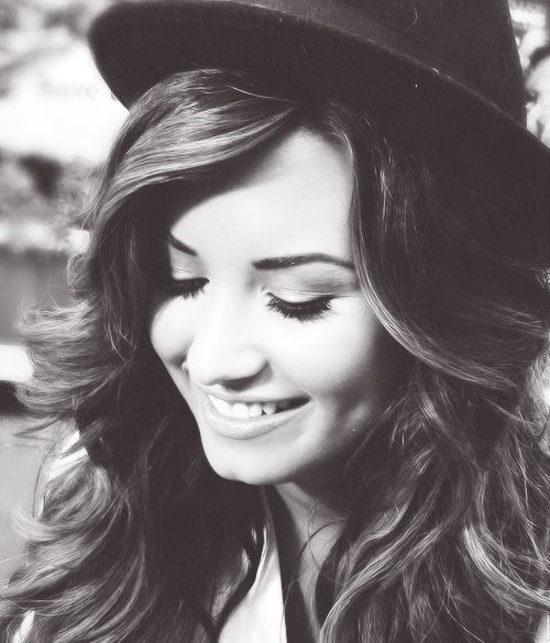 Demi Lovato. This woman has helped me in so many ways, and she doesn't even know it... - Tee