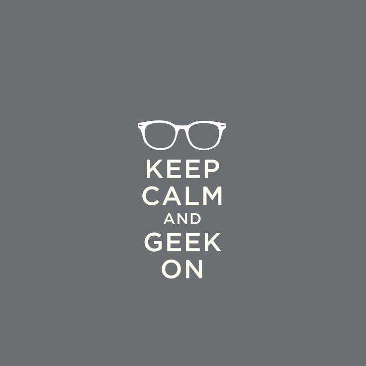 Geek On! #geek #ifactory #love #keepcalm #bne #westend #qld #office #creatives #developers