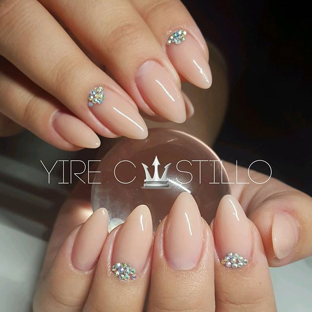 showing you nudes|ALMOND NAILS