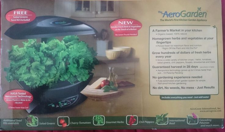 Aerogarden Brand New In The Box Full Size With 7 Pods 400 x 300