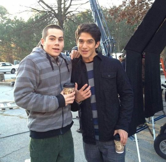 Teen Wolf - Dylan O´Brien and Tyler Posey - season 1