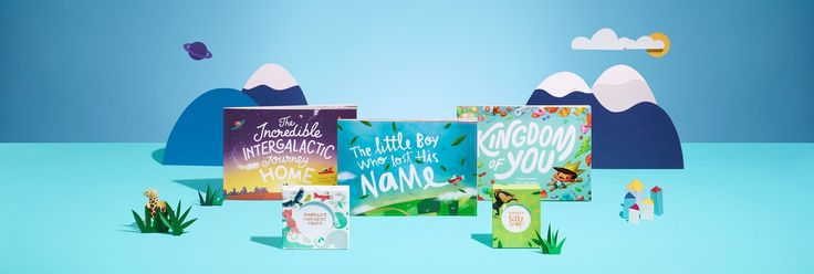 Personalised Children's Books, and More | Lost My Name