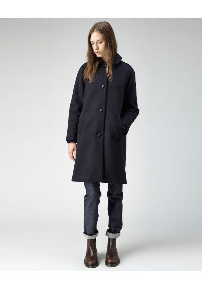 $650 A.P.C APC Dandy La garconne Totokaelo Jacket Coat Wool