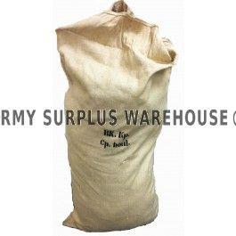 GIANT CZECH BURLAP BAG. Army Surplus Warehouse $ 12.99