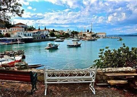 Spetses island,Greece