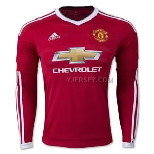 http://www.yjersey.com/1516-manchester-united-home-long-sleeve-jersey-kitshirtshort.html Only$37.00 15-16 MANCHESTER UNITED HOME LONG SLEEVE JERSEY KIT(SHIRT+SHORT) Free Shipping!