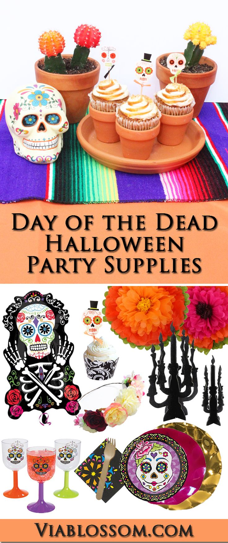 40 best Day of the Dead Halloween Party Ideas images on Pinterest