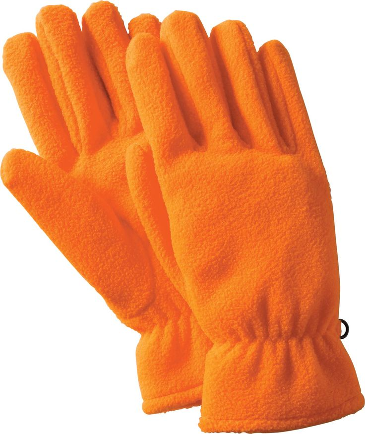 #447001 - HI-VIZ POLYESTER FLEECE GLOVES. For details on how to order this item with your logo branded on it contact ww.fivetwentyfour.ca #promoitems  #golves