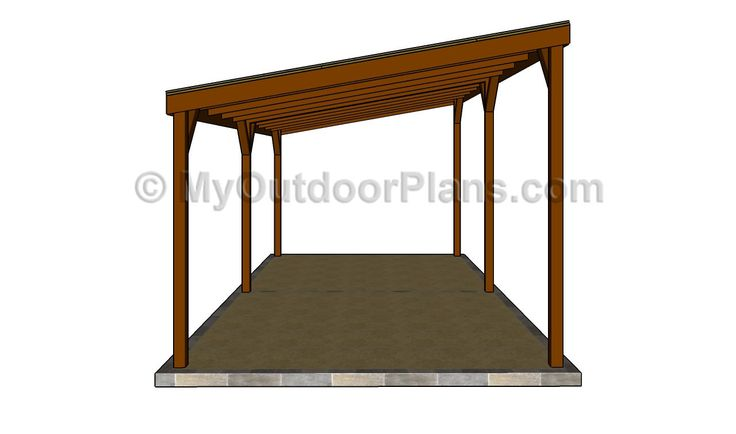 Diy wood carport wood carport designs free outdoor for Free wood carport plans