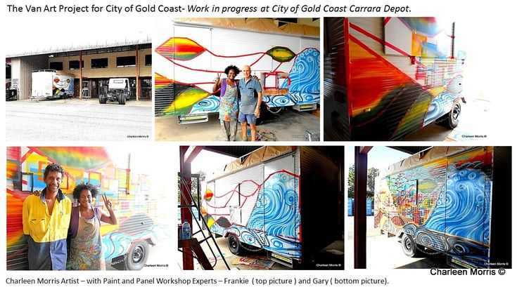 The Van Art Project City of Gold Coast. W.I.P. April 2016
