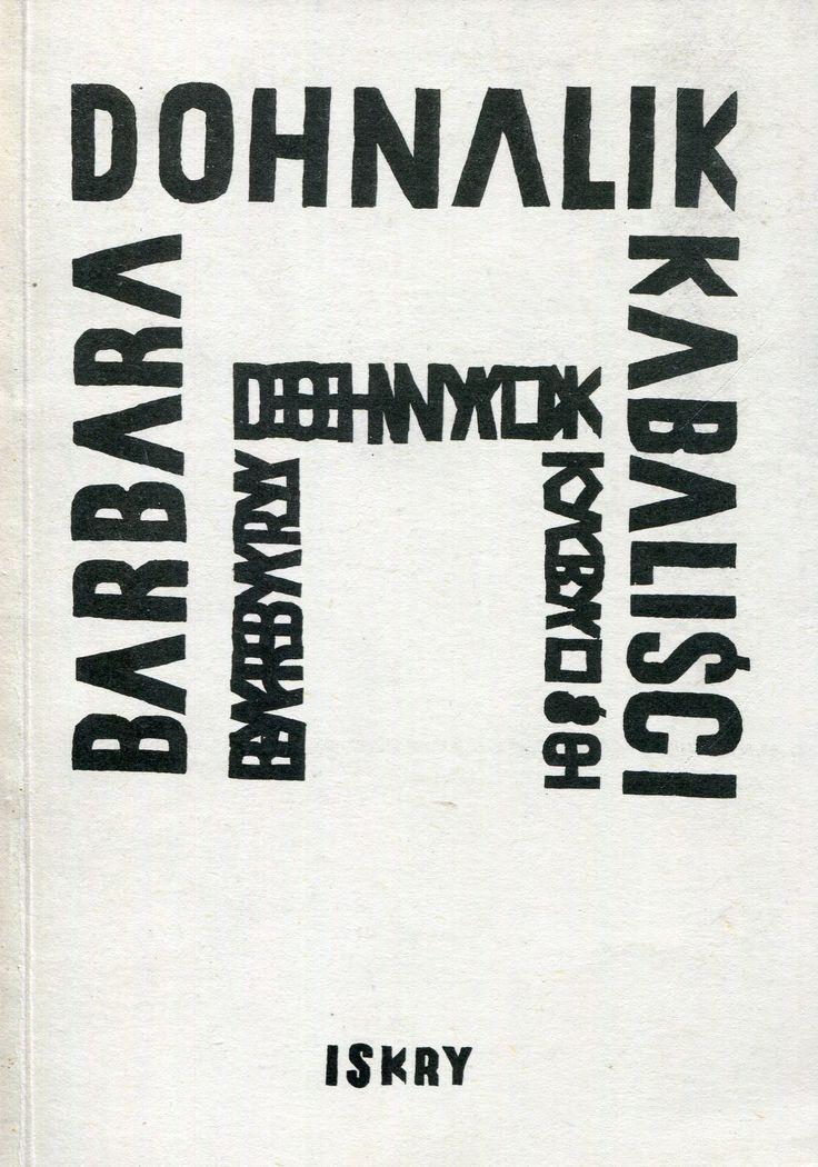 """""""Kabaliści"""" Barbara Dohnalik Cover by Piotr Młodożeniec Published by Wydawnictwo Iskry 1985"""