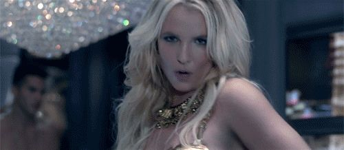 Favorite GIFs from Britney's new video. Work Bxxch!!
