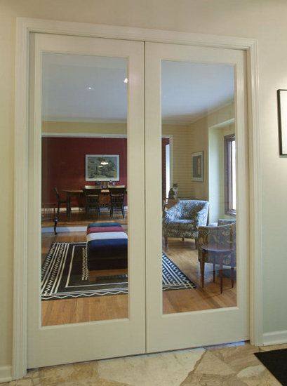 Interior Doors Creative Pocket Doors And Glass Panels