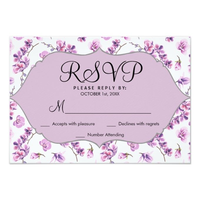 Shop Chic Elegant White Faux Gold Confetti RSVP Card Created By Paperi Find This Pin And More On Lavender Wedding Invitations